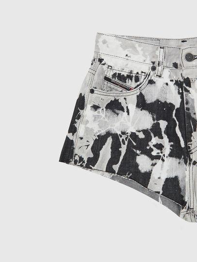 Diesel - DE-HIGWEI, Black/White - Shorts - Image 3