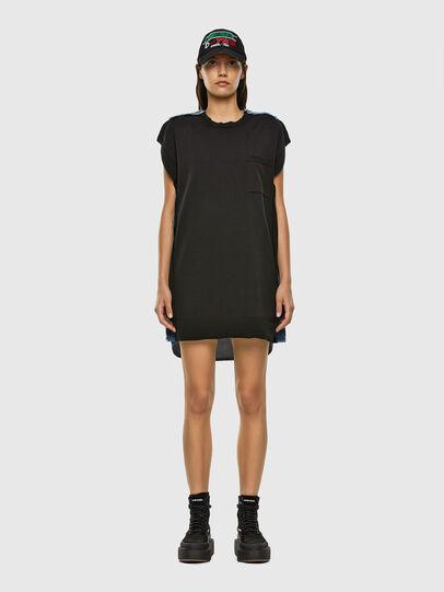 Diesel - M-BYRNE, Black/Blue - Dresses - Image 5