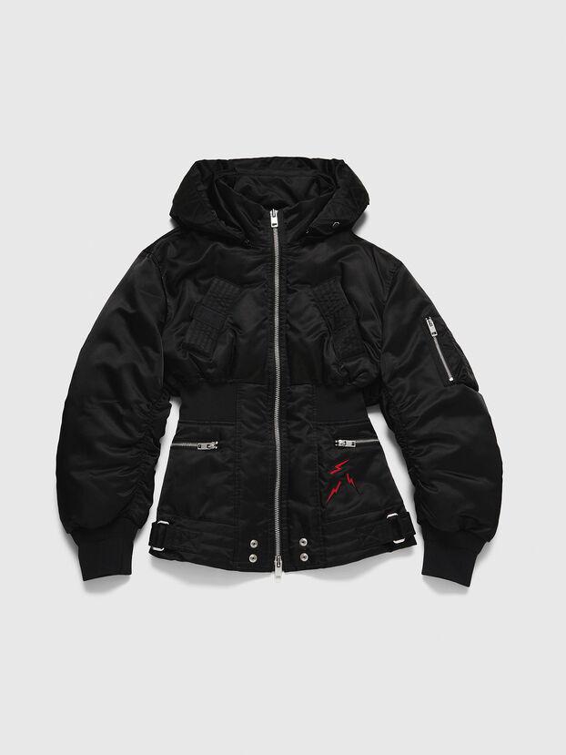 CL-W-ISOKE-A-LITM, Black - Winter Jackets