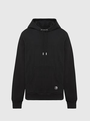 S-GIRK-HOOD-MOHI, Black - Sweaters