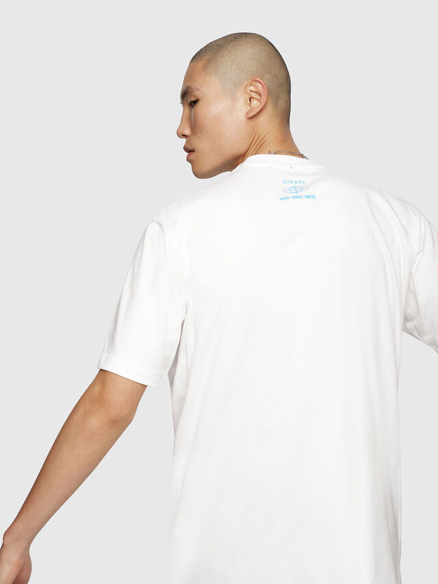 Diesel - T-JUST-YC, White - T-Shirts - Image 2