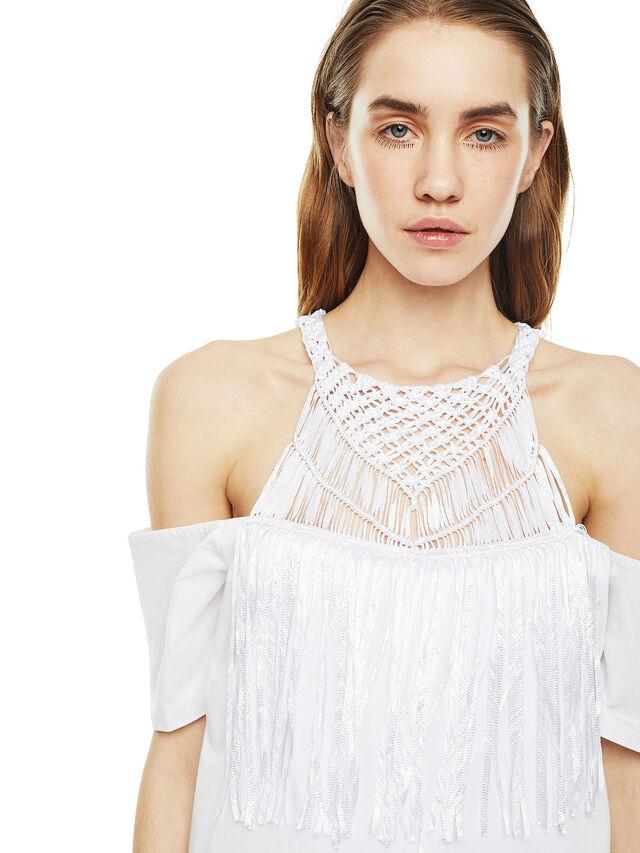 Diesel - DERSEY, White - Dresses - Image 4
