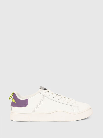 Diesel - S-CLEVER LOW LACE W, White/Violet - Sneakers - Image 1