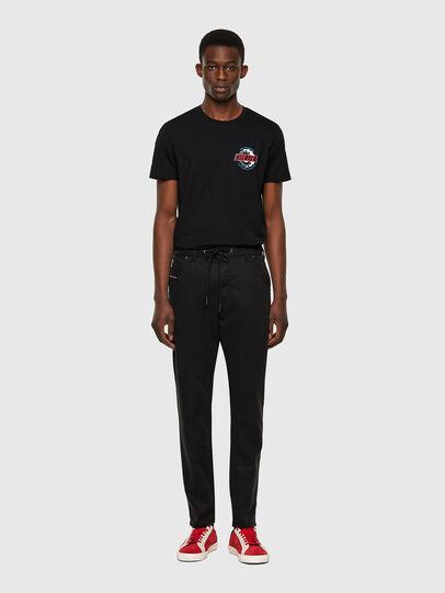 Diesel - Krooley JoggJeans® 069NC, Black/Dark grey - Jeans - Image 5