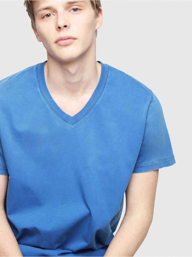 Diesel - T-SHOJI, Brilliant Blue - T-Shirts - Image 3