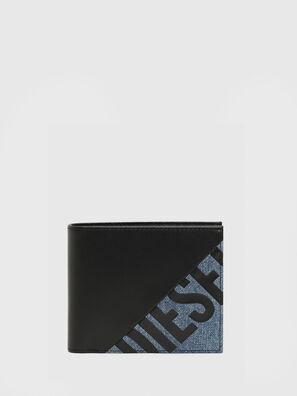 HIRESH S, Black/Blue - Small Wallets