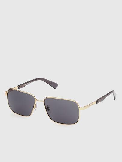 Diesel - DL0354, Black/Gold - Sunglasses - Image 2
