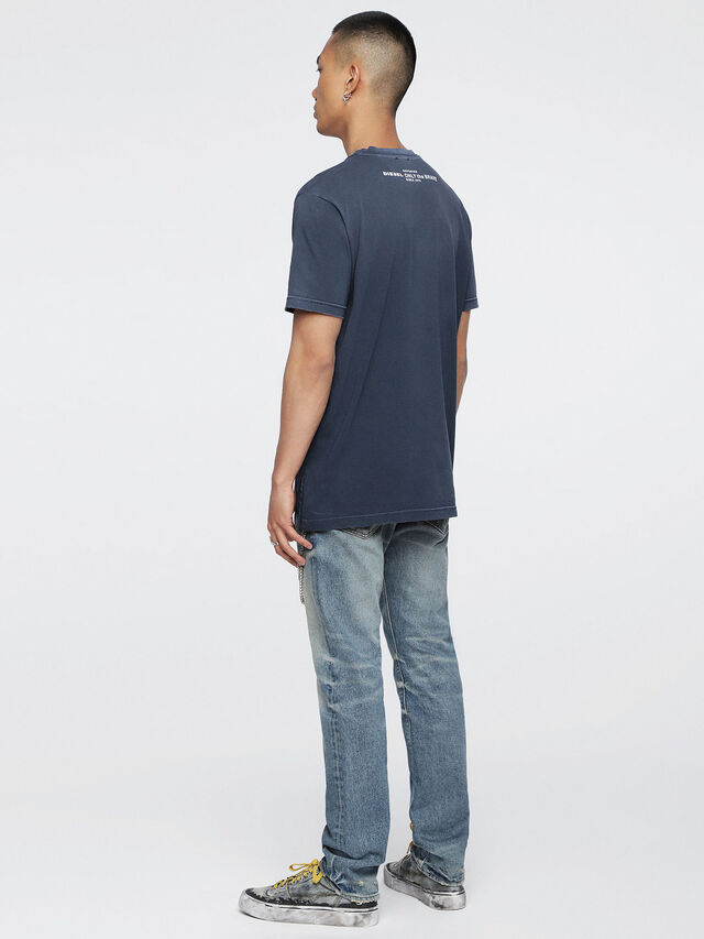 Diesel - T-KEITHS, Blue - T-Shirts - Image 4