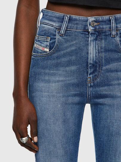 Diesel - Slandy High 009QS, Light Blue - Jeans - Image 4