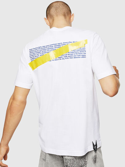 Diesel - T-JUST-A2, White - T-Shirts - Image 2