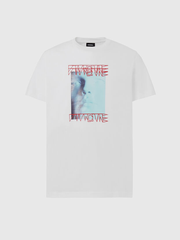 T-DIEGOS-X47, White - T-Shirts