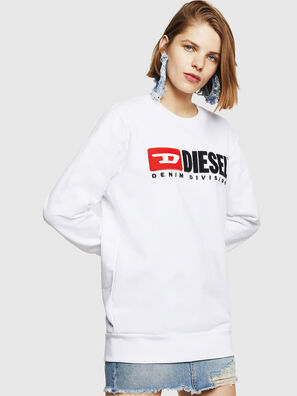 F-GIR-DIVISION-FL, White - Sweaters