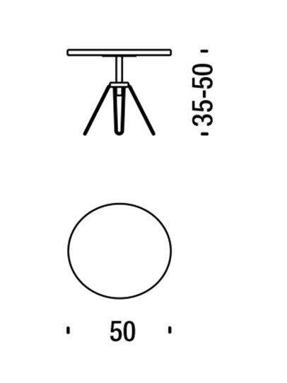 Diesel - DL0F04 OVERDYED, Black/Blue - Low Tables - Image 2