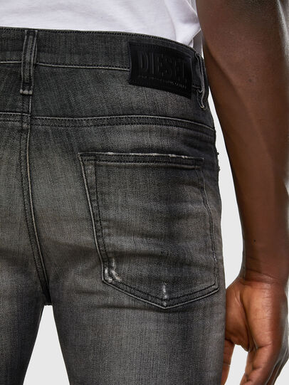 Diesel - D-Reeft JoggJeans 009FX, Black/Dark grey - Jeans - Image 3