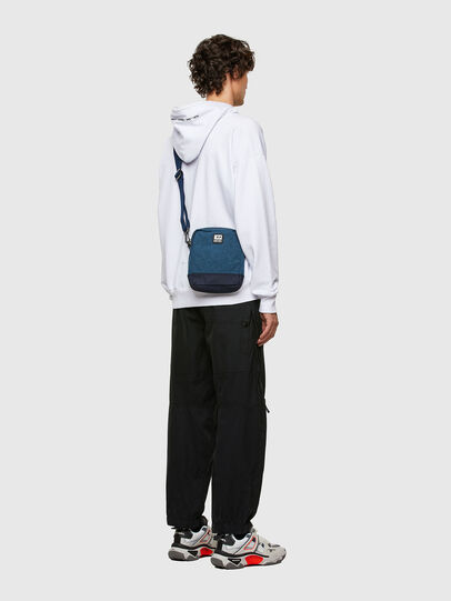 Diesel - ALTAIRO, Blue - Crossbody Bags - Image 6