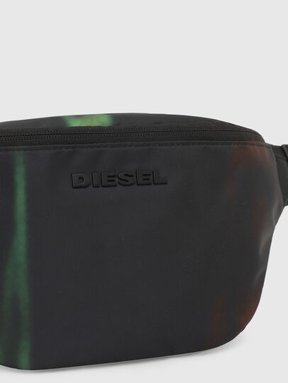 Diesel - F-SUSE BELT DM, Black/Blue - Belt bags - Image 5