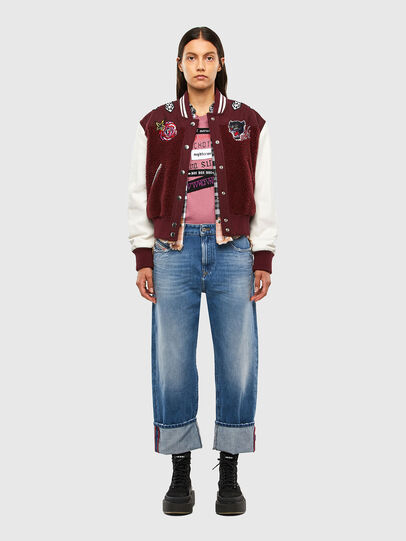 Diesel - T-SILY-V20, Pink - T-Shirts - Image 5