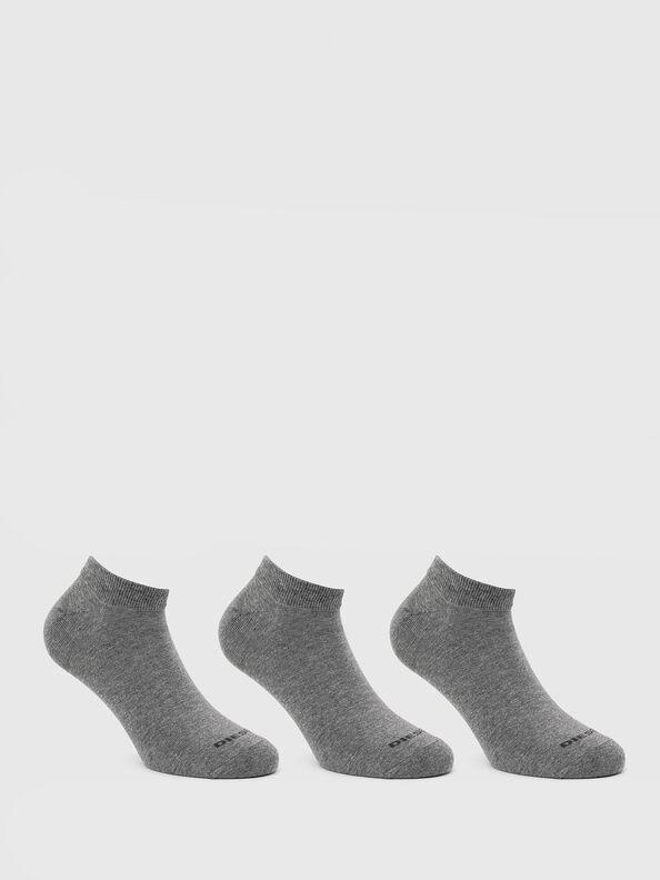 SKM-GOST-THREEPACK, Grey - Low-cut socks
