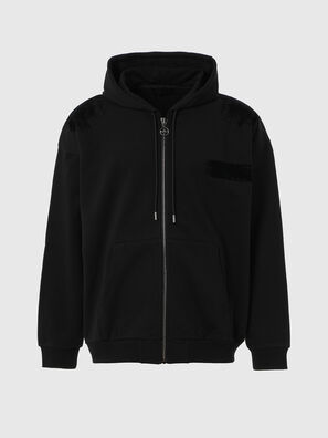 S-HENON-ZIP, Black - Sweaters