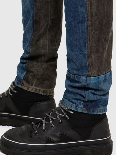 Diesel - D-Kras 009EA, Black/Dark grey - Jeans - Image 6