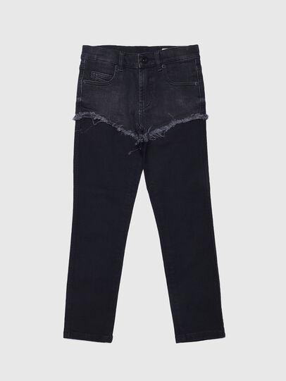 Diesel - BABHILA-J SP, Black - Jeans - Image 1