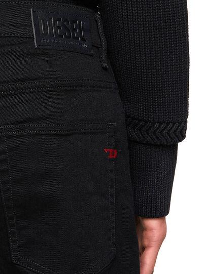 Diesel - D-Fining 0688H, Black/Dark grey - Jeans - Image 4