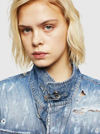 Diesel - DE-MERYL, Blue Jeans - Denim Jackets - Image 3