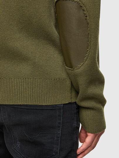 Diesel - K-AARON, Military Green - Knitwear - Image 4