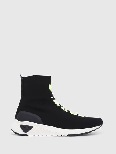 Diesel - S-KB MID ATHL SOCK, Black - Sneakers - Image 1