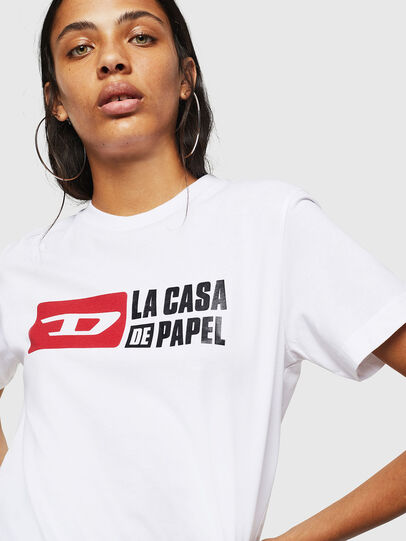 Diesel - LCP-T-DIEGO-CASA, White - T-Shirts - Image 5