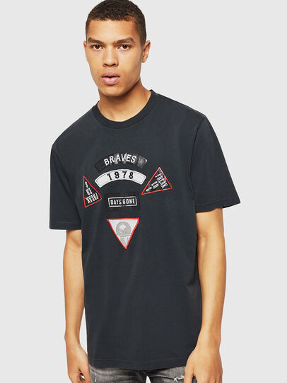 Diesel - PS-T-JUST-RIBS,  - T-Shirts - Image 1