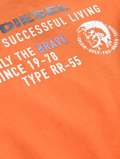 Diesel - TDIEGOXB, Orange - T-shirts and Tops - Image 3