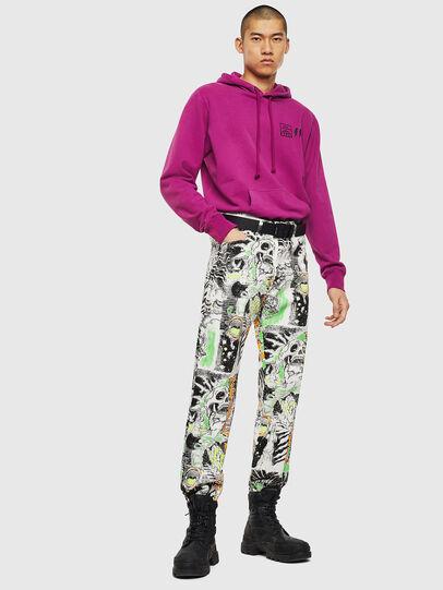 Diesel - S-GIRK-HOOD-SUN, Lilac - Sweaters - Image 5