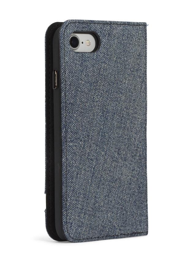 Diesel - DENIM IPHONE 8 PLUS/7 PLUS FOLIO, Blue Jeans - Flip covers - Image 7