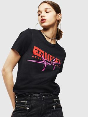 T-SILY-ZC, Black - T-Shirts