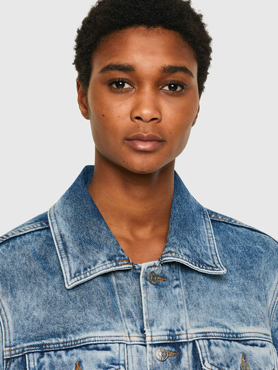 Diesel - NHILL-C1, Light Blue - Denim Jackets - Image 6