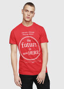 T-DIEGO-YD, Red - T-Shirts