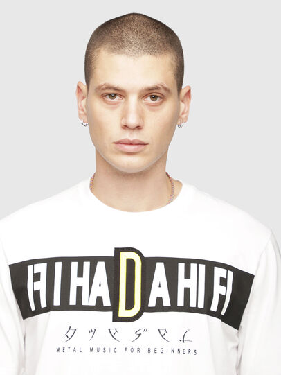 Diesel - T-JUST-YZ,  - T-Shirts - Image 3