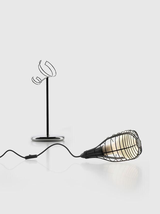 Living CAGE MIC NERO, Black - Table Lighting - Image 2