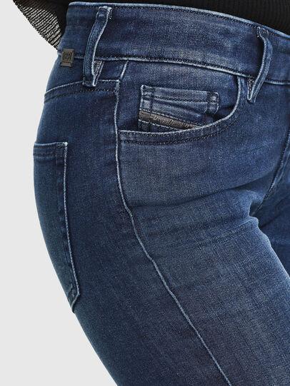 Diesel - Slandy 0890K, Dark Blue - Jeans - Image 3