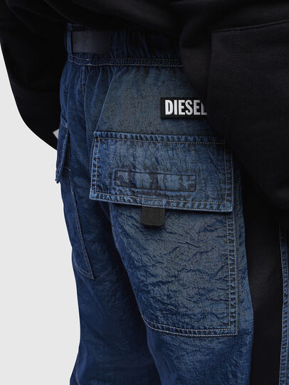 Diesel - P-BERG, Blue - Pants - Image 3
