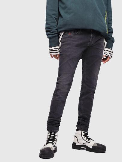 Diesel - Sleenker 069EQ, Dark Blue - Jeans - Image 1