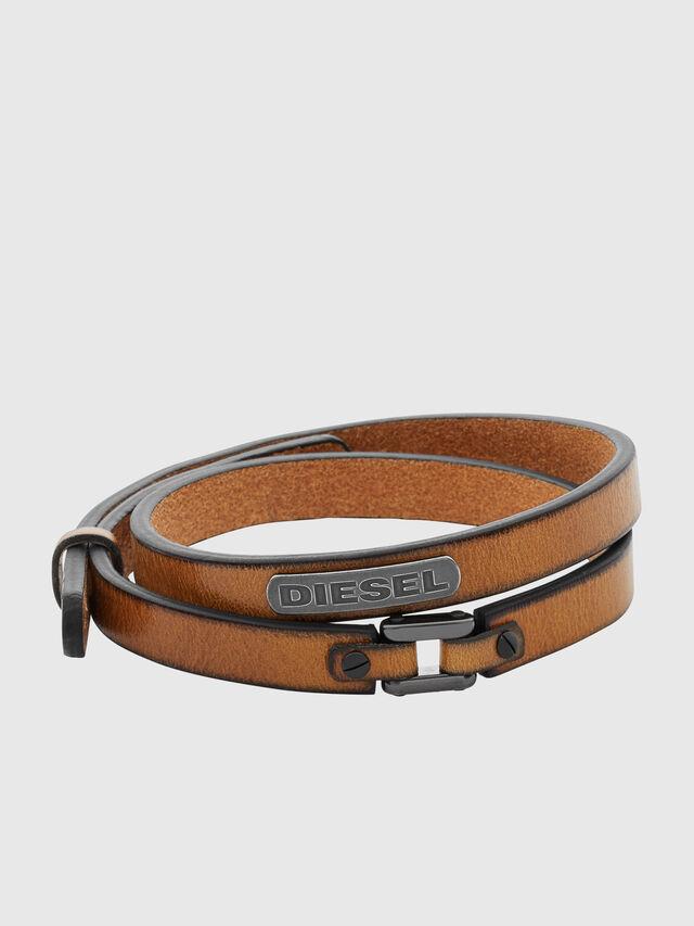 Diesel - DX0984, Brown - Bracelets - Image 1