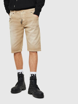 D-KROOSHORT JOGGJEANS, Light Brown - Shorts