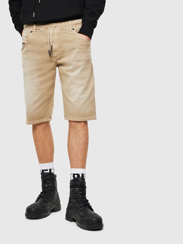 D-KROOSHORT JOGGJEANS, Light Brown - Shorts