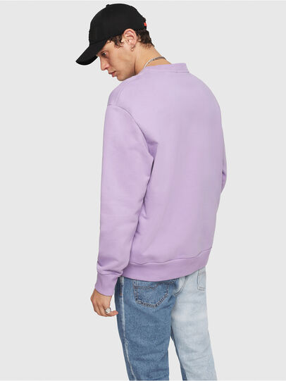 Diesel - S-CREW-DIVISION, Lilac - Sweaters - Image 2