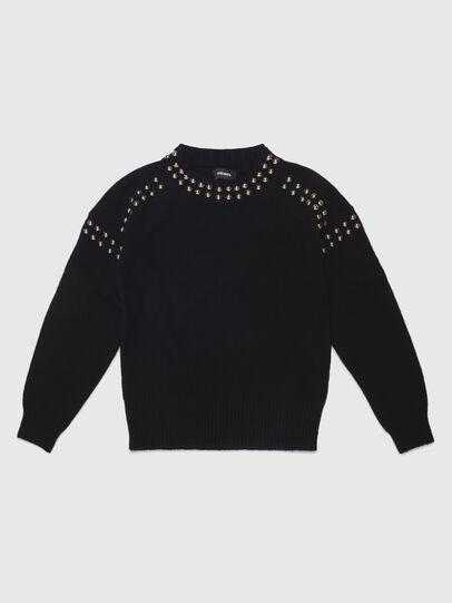 Diesel - KRIPX, Black - Knitwear - Image 1