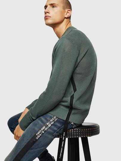 Diesel - K-RIO, Olive Green - Knitwear - Image 4