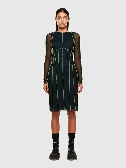 Diesel - D-VINA, Black/Green - Dresses - Image 6