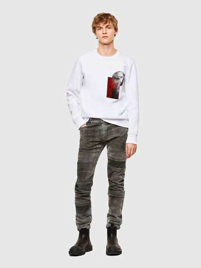 Diesel - S-ARGON-A, White - Sweaters - Image 5